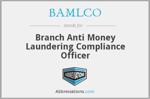 What does BAMLCO stand for?