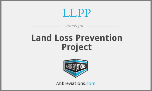 LLPP - Land Loss Prevention Project