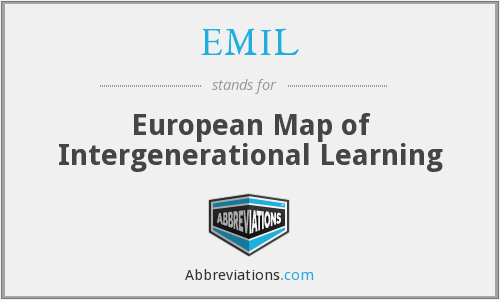 EMIL - European Map of Intergenerational Learning