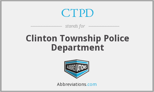 CTPD - Clinton Township Police Department