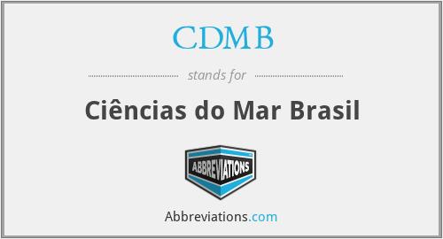 CDMB - Ciências do Mar Brasil