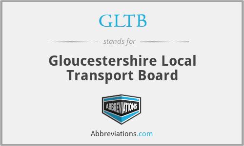GLTB - Gloucestershire Local Transport Board