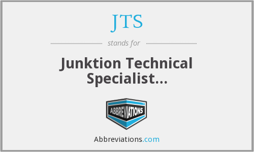 JTS - Junktion Technical Specialist…