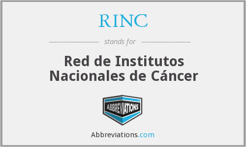 What does RINC stand for?
