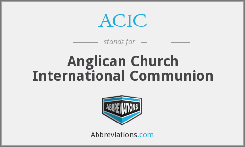ACIC - Anglican Church International Communion