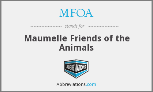 MFOA - Maumelle Friends of the Animals