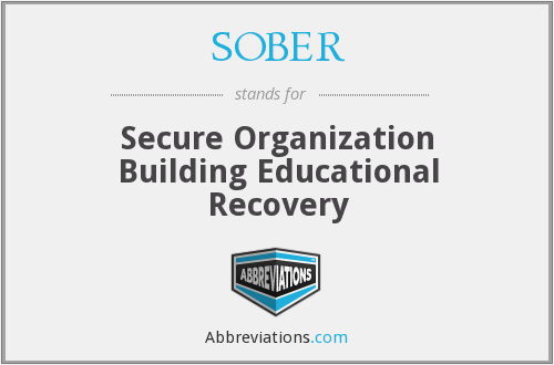 SOBER - Secure Organization Building Educational Recovery