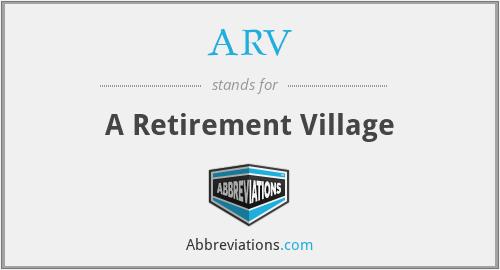 ARV - A Retirement Village