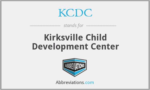 KCDC - Kirksville Child Development Center