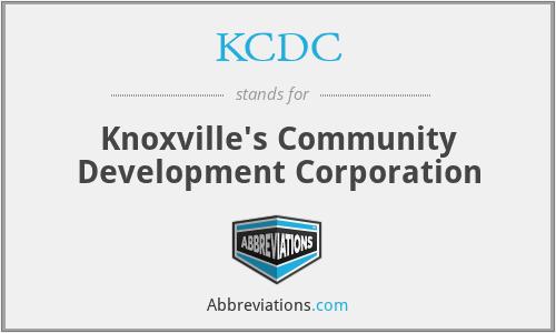 KCDC - Knoxville's Community Development Corporation