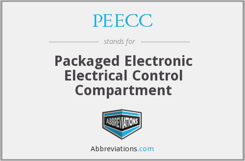 PEECC - Packaged Electronic Electrical Control Compartment