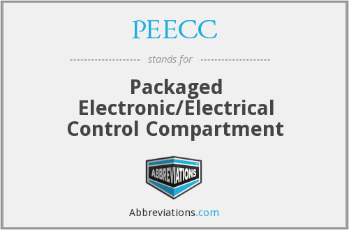 PEECC - Packaged Electronic/Electrical Control Compartment