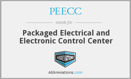 PEECC - Packaged Electrical and Electronic Control Center