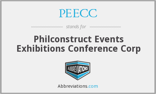 PEECC - Philconstruct Events Exhibitions Conference Corp