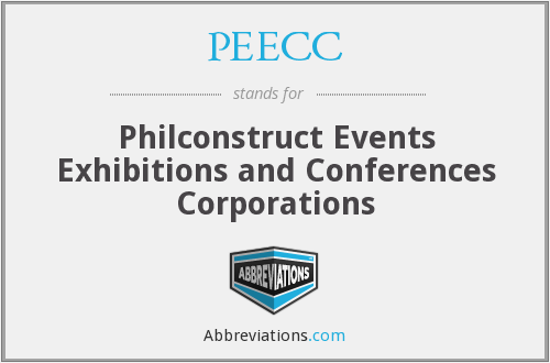 PEECC - Philconstruct Events Exhibitions and Conferences Corporations