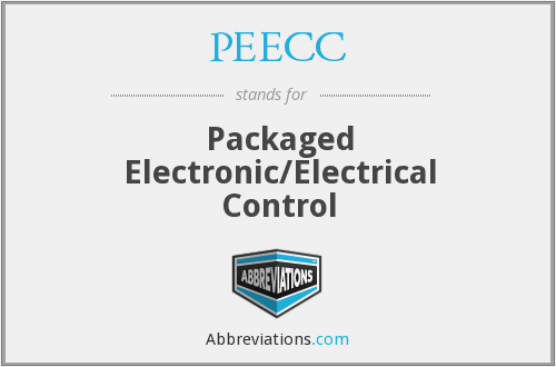 PEECC - Packaged Electronic/Electrical Control