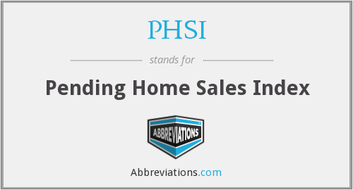 What does PHSI stand for?