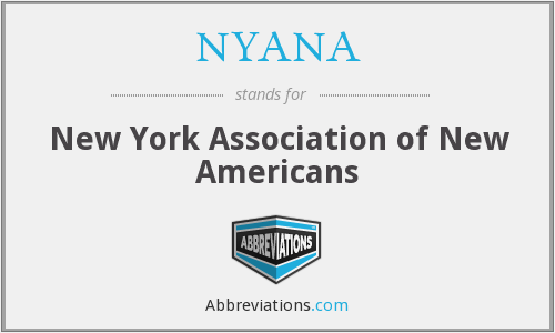 NYANA - New York Association of New Americans