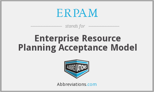 What does ERPAM stand for?