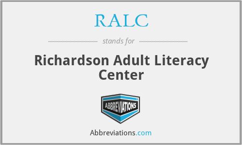 RALC - Richardson Adult Literacy Center