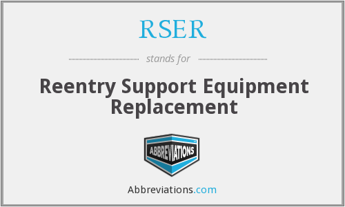 What does RSER stand for?