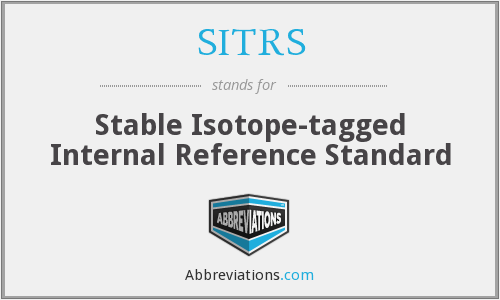 What does SITRS stand for?