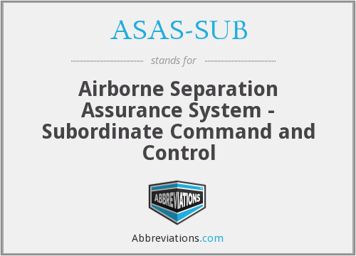 What does ASAS-SUB stand for?