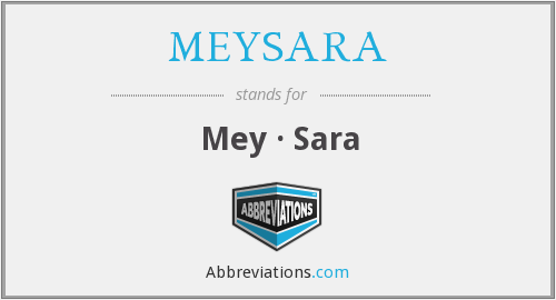 What does MEYSARA stand for?
