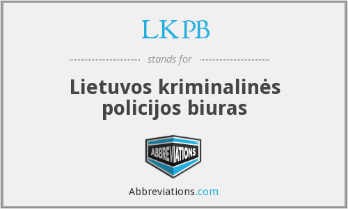 What does LKPB stand for?