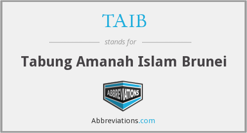 What does TAIB stand for?