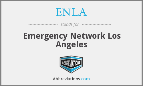 What does ENLA stand for?