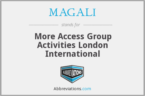 What does MAGALI stand for?