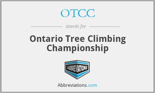 OTCC - Ontario Tree Climbing Championship