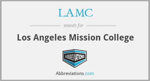 LAMC - Los Angeles Mission College