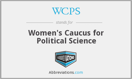 WCPS - Women's Caucus for Political Science