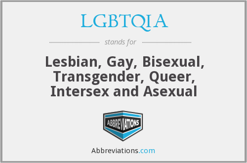 What does LGBTQIA stand for?