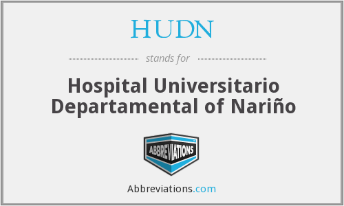What does HUDN stand for?