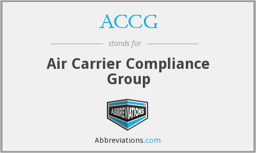 ACCG - Air Carrier Compliance Group