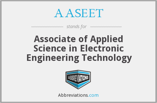 What does AASEET stand for?