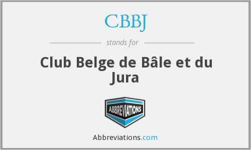 What does CBBJ stand for?