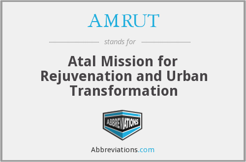 What does AMRUT stand for?