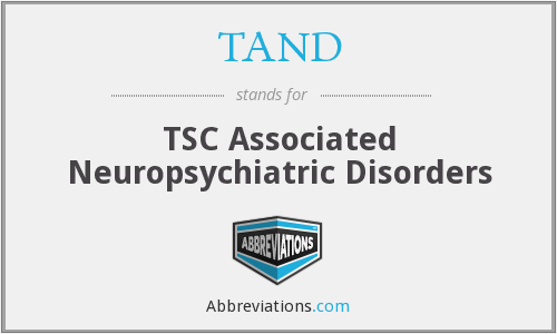 What does TAND stand for?