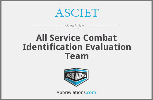 What does ASCIET stand for?