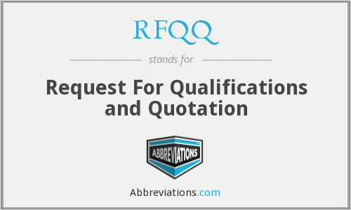 What does RFQQ stand for?