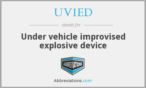 What does UVIED stand for?