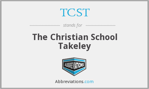 TCST - The Christian School Takeley