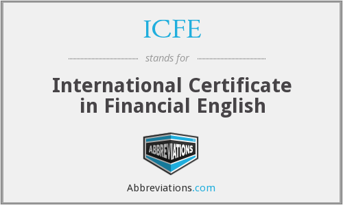 What does ICFE stand for?