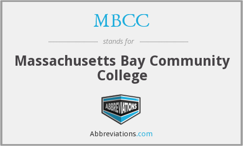MBCC - Massachusetts Bay Community College