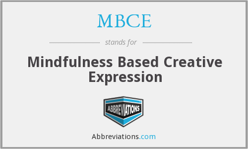 What does MBCE stand for?