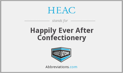 HEAC - Happily Ever After Confectionery